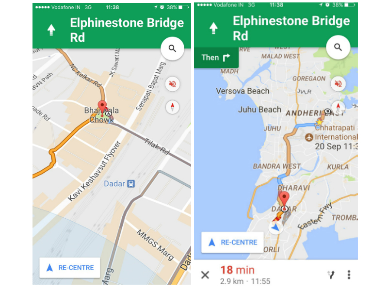 Google Maps for iOS Update Brings Support for Navigation to Multiple on