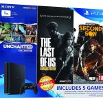 Sony PS4 Slim 1TB Summer Value Bundle With 5 Games Listed on Amazon India